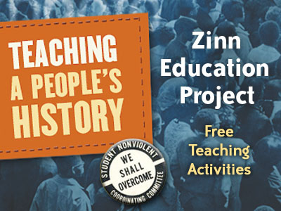 Click to link to the Zinn Education Project Women in Labor History page